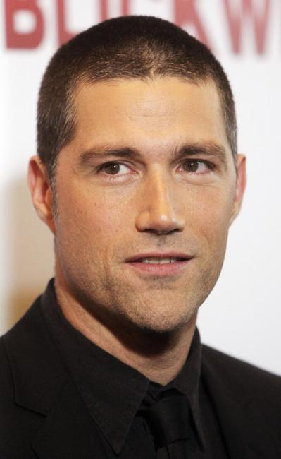 Matthew Fox at the Berlin photocall of