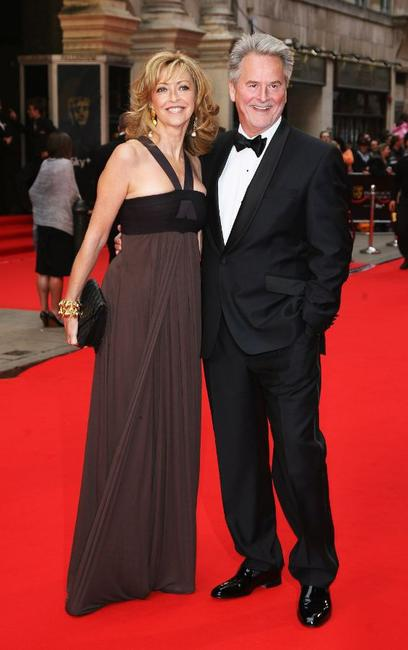 Sharon Maughan and Trevor Eve at the British Academy Television Awards 2008.