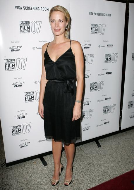 Alison Eastwood at the premiere screening of