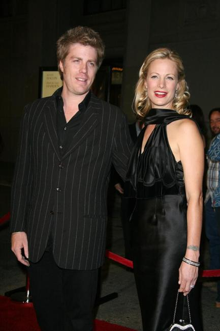 Alison Eastwood and her brother Kyle Eastwood at the premiere of