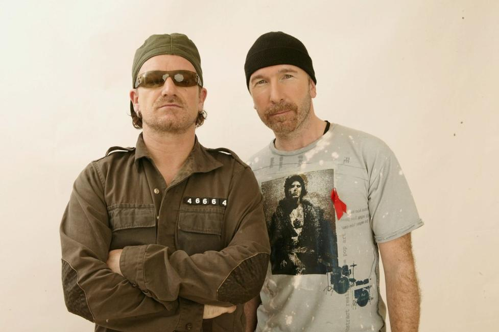 Bono and The Edge at the