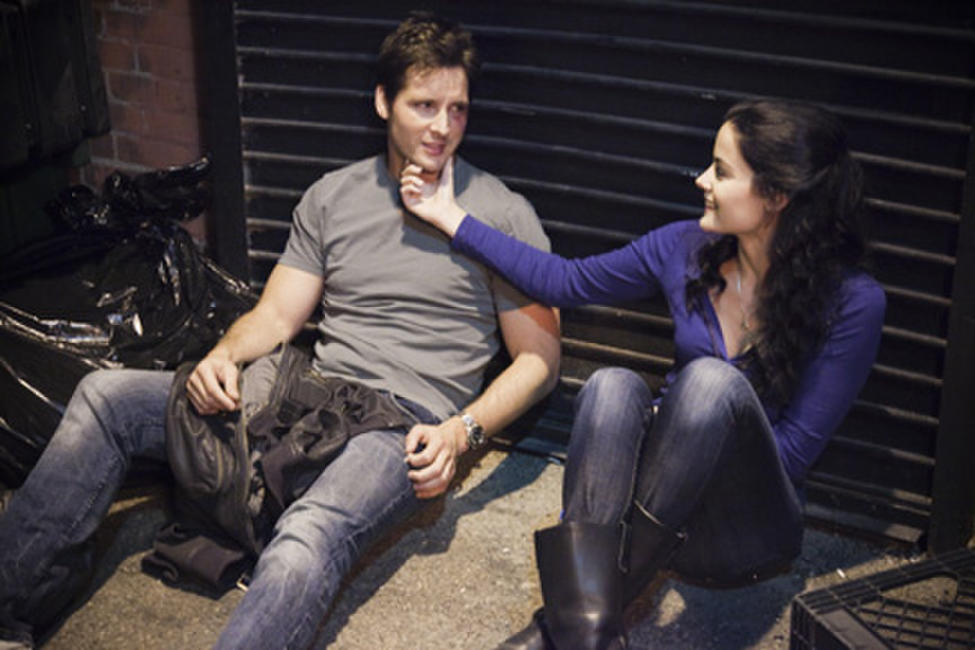 Peter Facinelli as Bobby and Jaimie Alexander as Lucy in ``Loosies.''