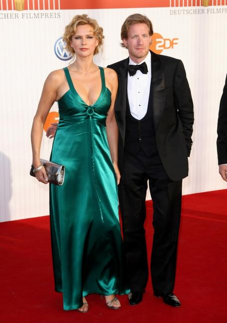 Veronica Ferres and David Gronewold at the German Film Awards 2009.