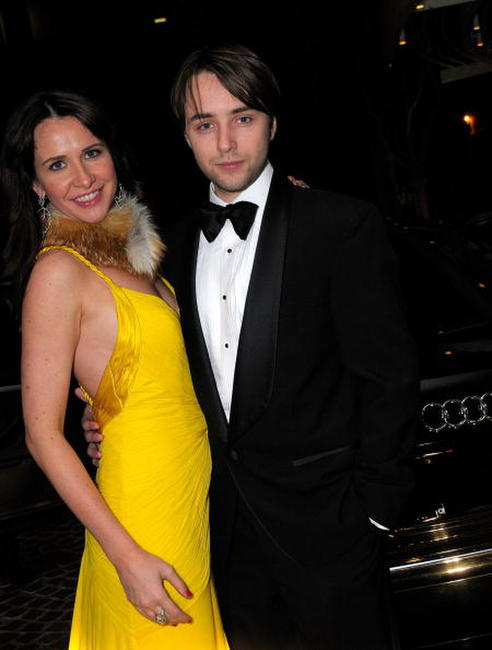 Vincent Kartheiser and Guest at the 10th Annual Costume Designers Guild Awards.