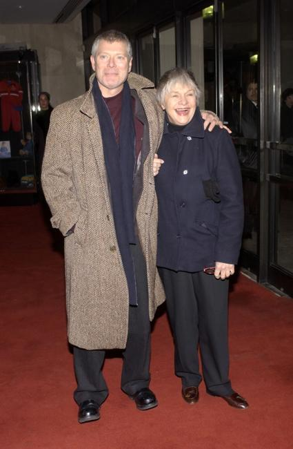 Stephen Lang and Estelle Parsons at the Actors Fund celebration of the 100th birthday of Lee Strasberg.