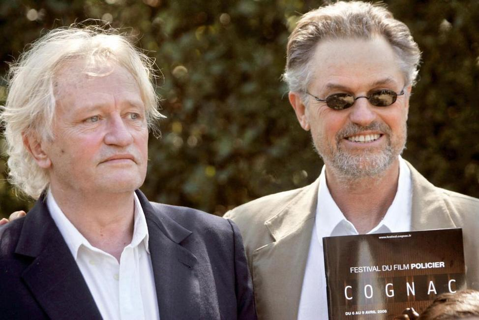 Niels Arestrup and Jonathan Demme at the Cognac Festival.