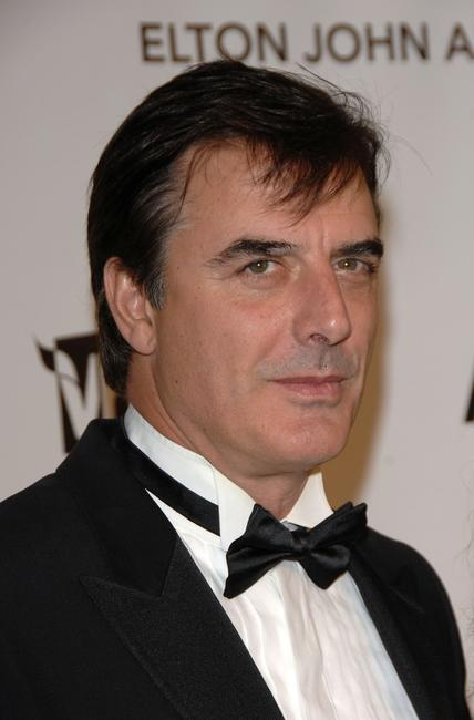 Chris Noth at the 16th Annual Elton John AIDS Foundation Academy Awards viewing party.