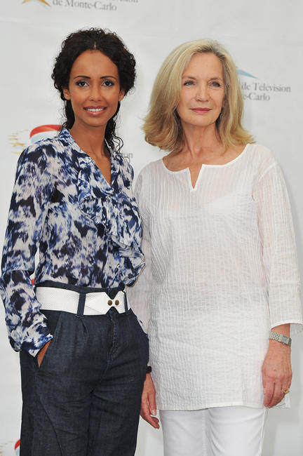 Sonia Rolland and Marie-Christine Adam at the photocall of