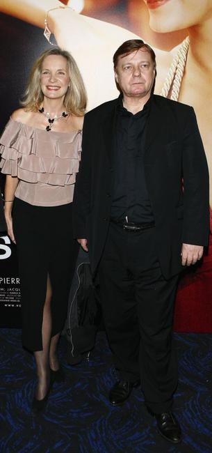 Marie-Christine Adam and Jacques Spiesser at the premiere of