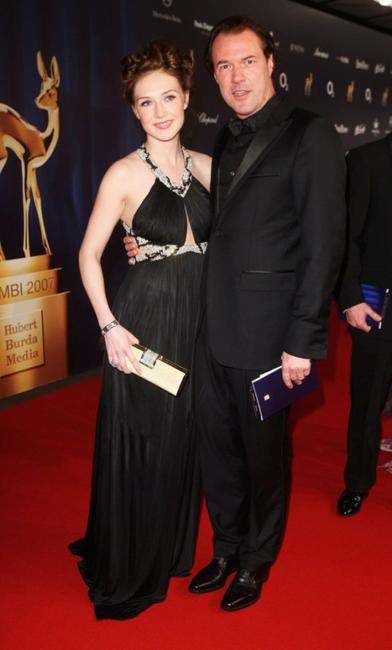 Carice van Houten and Sebastian Koch at the Annual Bambi Awards 2007.