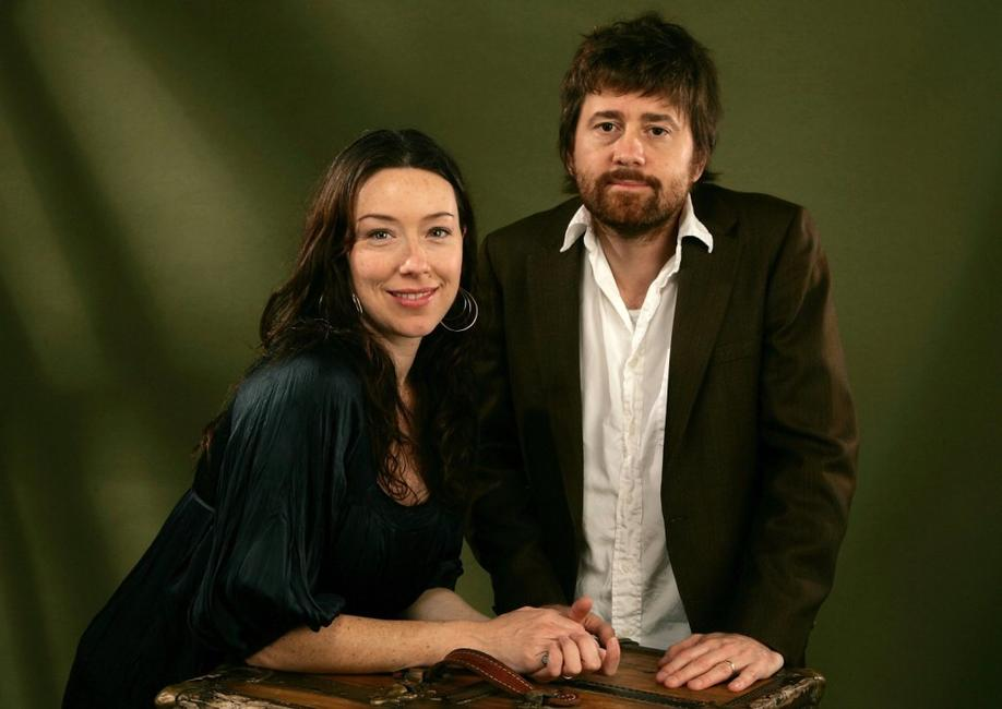 Molly Parker and Matt Bissonnette at the AFI Fest 2006 Portrait Session for