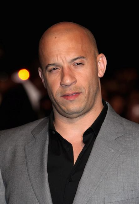 Vin Diesel at the UK premiere of