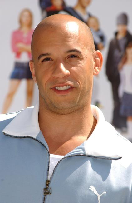Vin Diesel at the photocall of