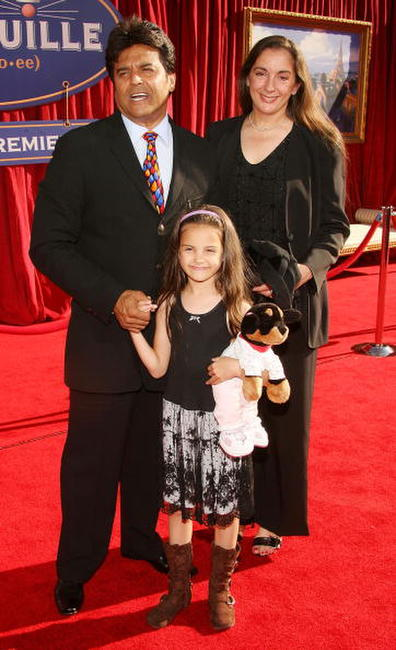 Erik Estrada and his family at the premiere of