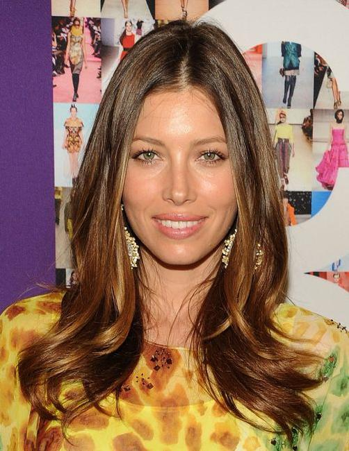 Jessica Biel at the 2010 CFDA Fashion Awards.