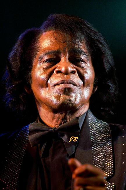 James Brown at the T In The Park 2005.
