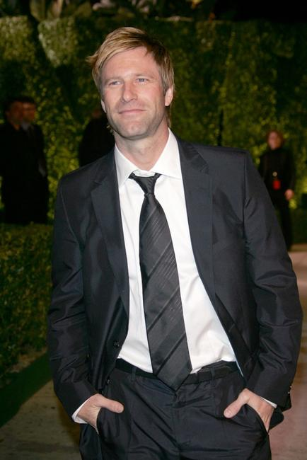 Aaron Eckhart at the 2007 Vanity Fair Oscar Party.