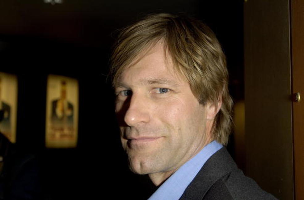 Aaron Eckhart at a Washington screening of