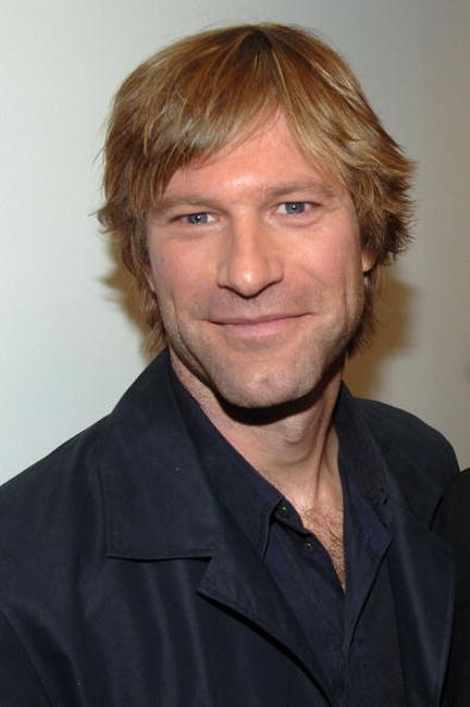 Aaron Eckhart at Sirius Satellite Radio's launch of Cosmo Radio in N.Y.