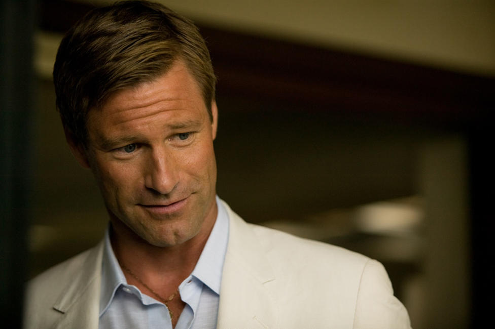 Aaron Eckhart as Sanderson in