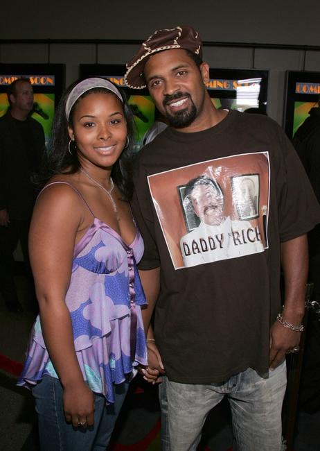 Mike Epps and his wife Michelle at the premiere of