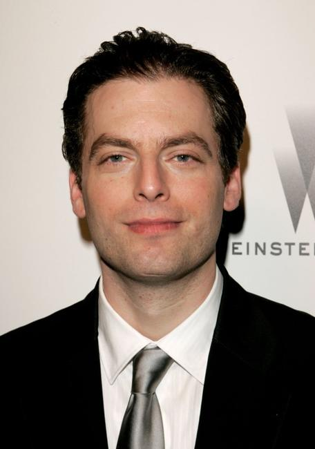 Justin Kirk at the Weinstein Co. Golden Globe after party.