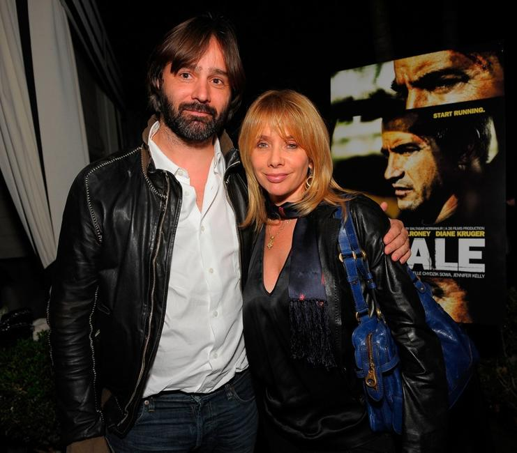 Baltasar Kormakur and Rosanna Arquette at the 26 Films AFM party of
