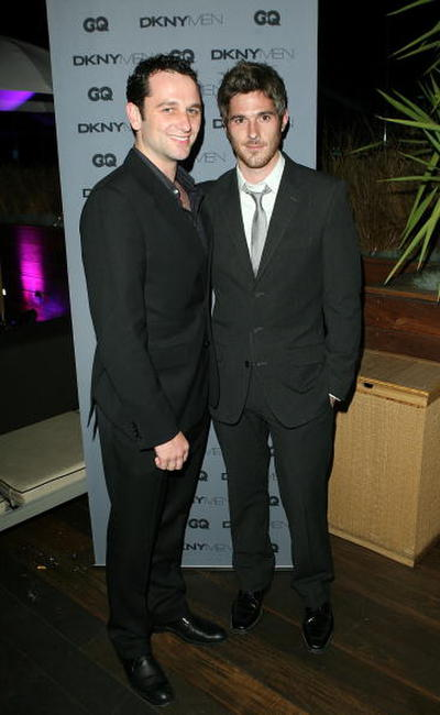 Matthew Rhys and Dave Annable at the DKNY Men VIP Dinner and After Party for the 2008 GQ Luxe Lounge.