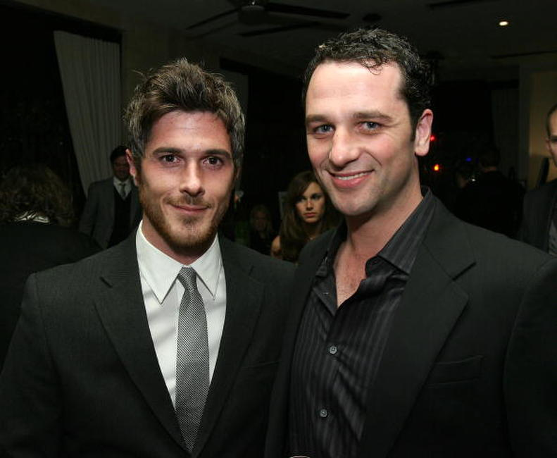 Dave Annable and Matthew Rhys at the DKNY Men VIP Dinner and After Party for the 2008 GQ Luxe Lounge.