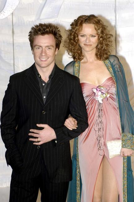 Toby Stephens and his wife Anna-Louise Plowman at the special screening of