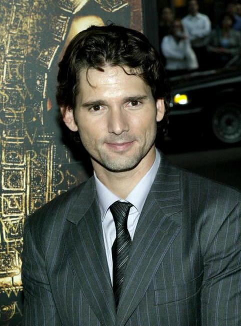 "Eric Bana at the premiere of ""Troy"" in New York City."