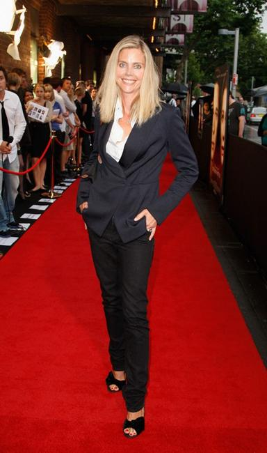 Sophie Lee at the Australian premiere of