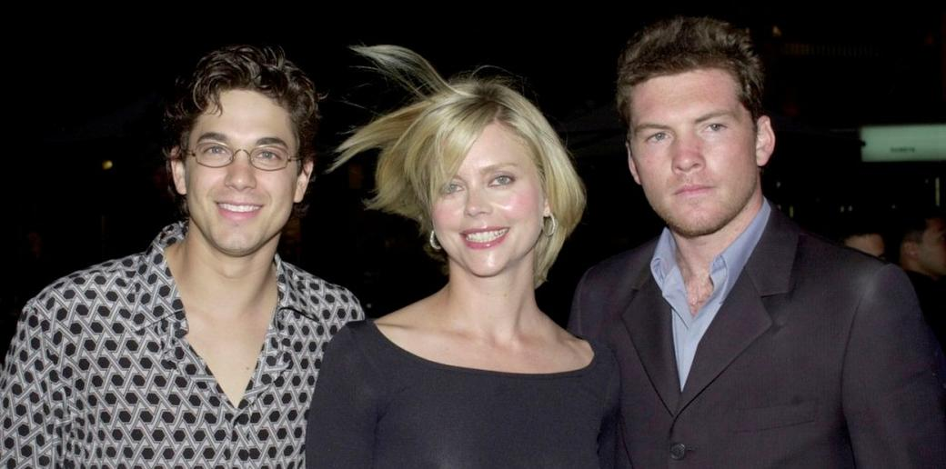 Garcia, Sophie Lee and Sam Worthington at the Australian premiere of