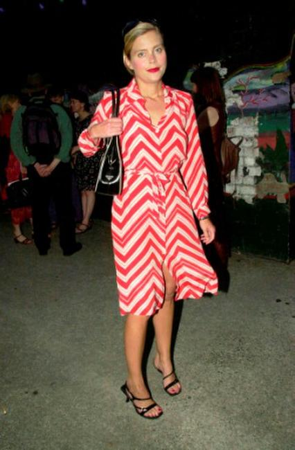 Sophie Lee at the Judith Lucy opening night.
