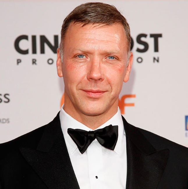 Mikael Persbrandt at the 24th European Film Awards 2011 in Germany.