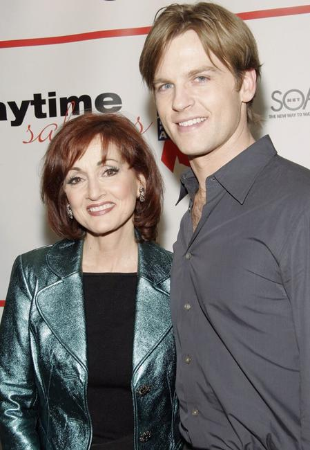 Robin Strasser and Trevor St. John at the after party of the ABC Daytime Salutes Broadway Cares/Equity Fights AIDS Benefit.
