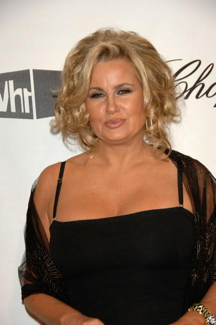 Jennifer Coolidge at the 16th Annual Elton John AIDS Foundation Academy Awards viewing party.