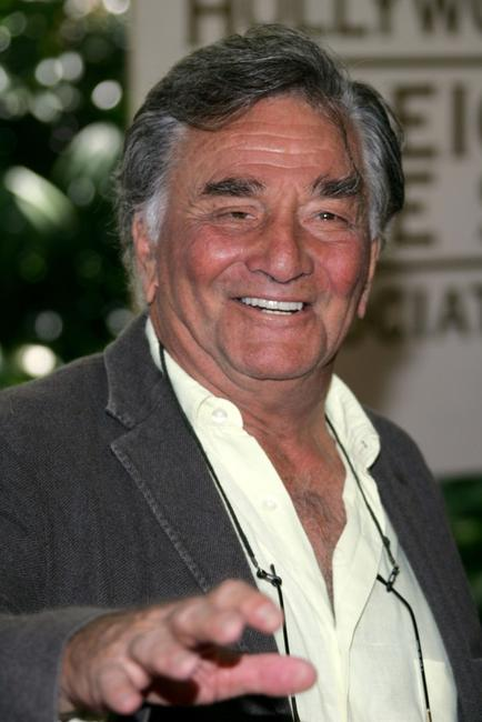 Peter Falk at the 2007 HFPA Installation Lunch.