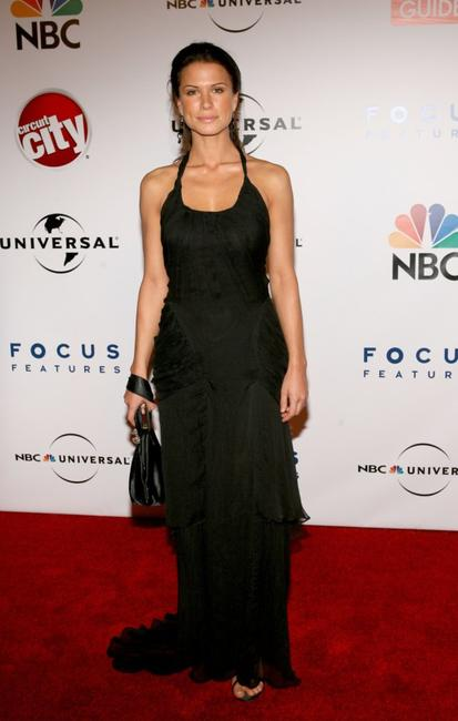 Rhona Mitra at the Universal/NBC/Focus Features Golden Globe after party.