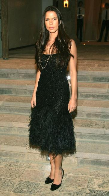 Rhona Mitra at the Gucci Spring 2006 Fashion Show.