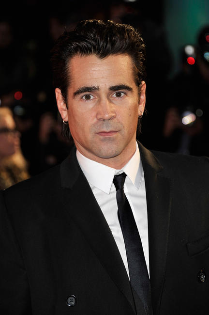Colin Farrell at the premiere of