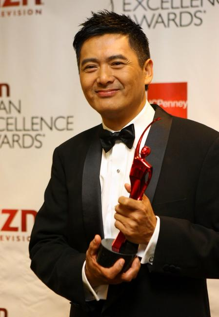Chow Yun-Fat at the California The 2007 AZN Asian Excellence Awards.
