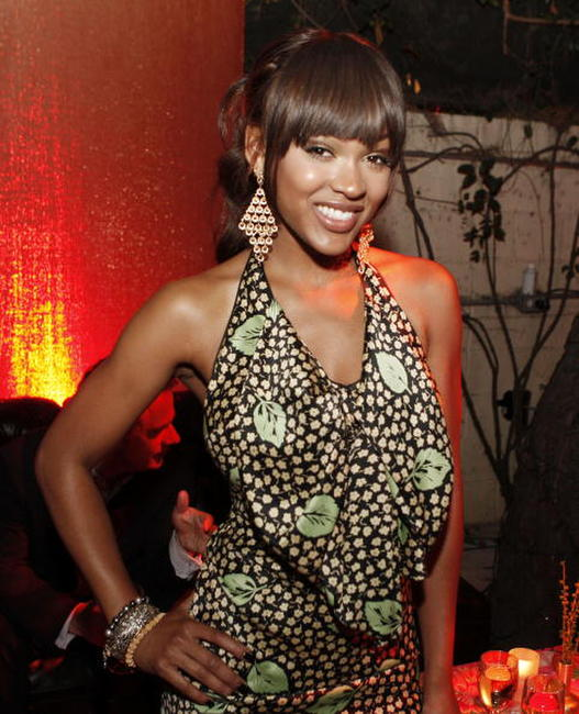 Meagan Good at the after party of the premiere of