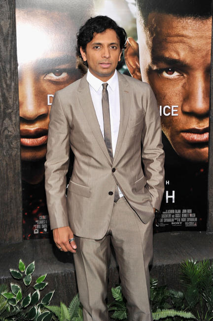 Director M. Night Shyamalan at the New York premiere of