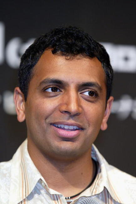 M. Night Shyamalan at the press conference for