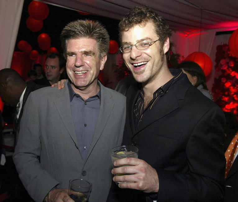 Tom Freston and Matt Stone at the after party of the premiere of