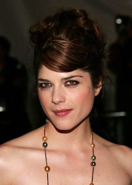 Selma Blair at the MET Costume Institute Gala Celebrating Channel.