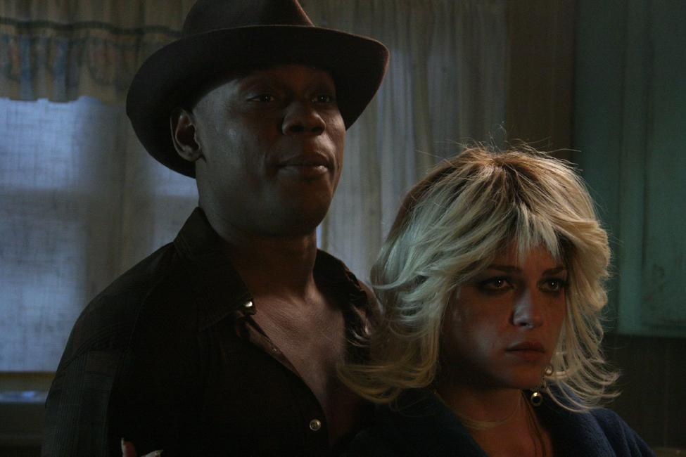 Bokeem Woodbine and Selma Blair in