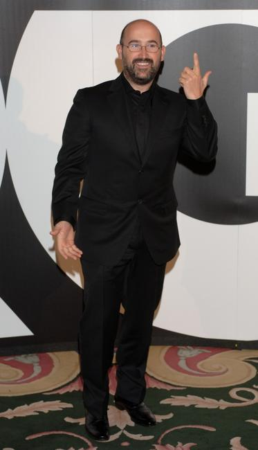 Javier Camara at the GQ Magazine Awards ceremony.