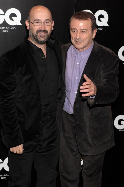 Javier Camara and Juan Diego at the GQ Magazine's 6th Annual ''Men of the Year'' awards ceremony.